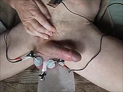 Electo Tortured Balls Forced To Cum